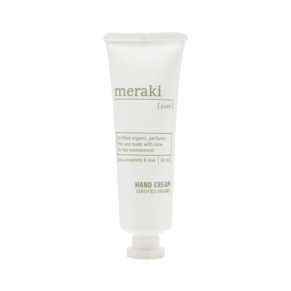 Load image into Gallery viewer, Meraki scent free hand cream organic.