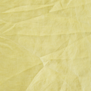 Load image into Gallery viewer, Lemon Yellow Stonewashed Linen lampshade, 45 x 45 cm