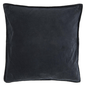 50 x 50 cm Charcoal Black Velvet Cushion Cover