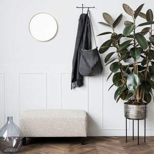 Load image into Gallery viewer, Matte Black Geometric 'Prea' Coat Hook Rack