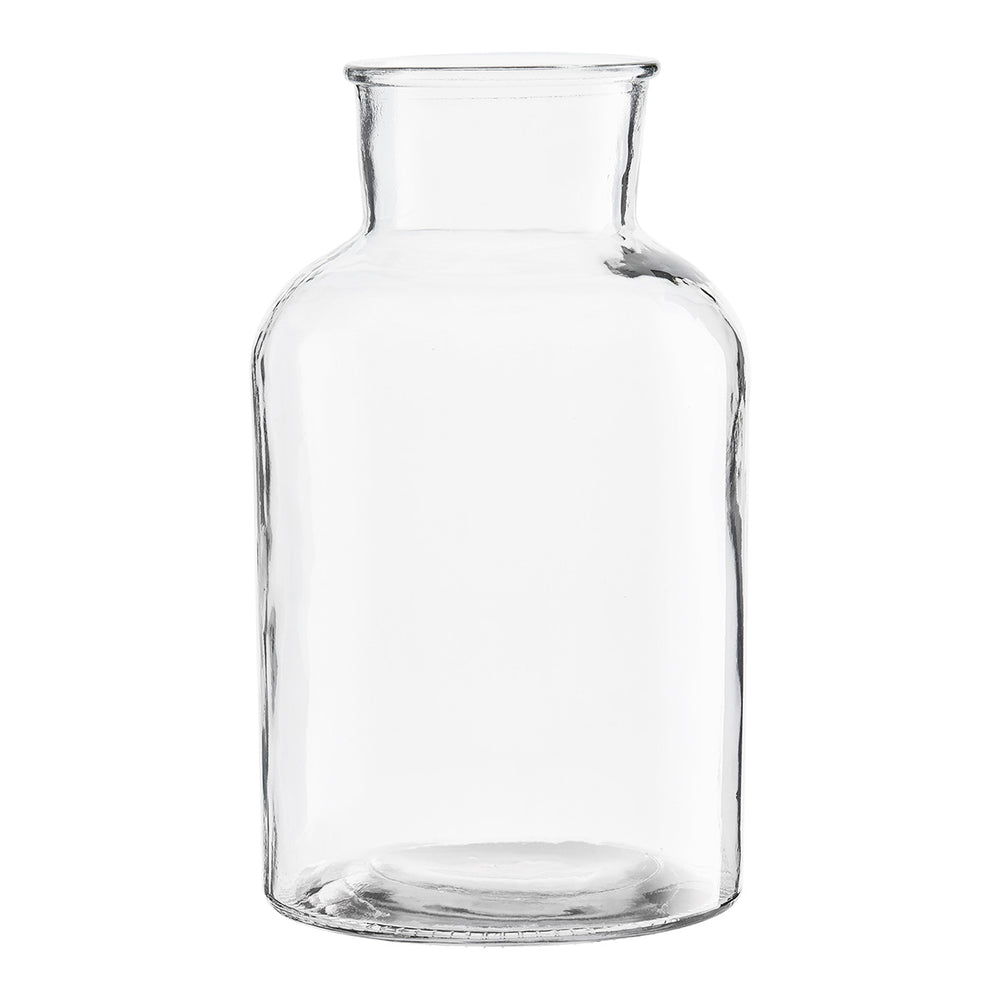 Load image into Gallery viewer, 17 x 30 cm Large Clear Glass Jar Vase