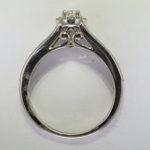 Load image into Gallery viewer, Diamond Halo Engagement  Ring