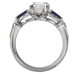 Classic Semi-Mount Diamond Ring