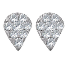 Load image into Gallery viewer, ladies fashion diamond earrings