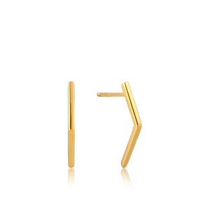 ANIA HAIE Gold Bar Stud Earrings