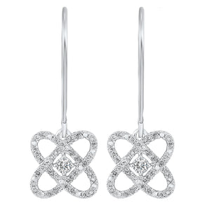 14KTW Diamond Earrings - 1/2ctw, Fernbaugh's Jewelers, ER10447-4WF