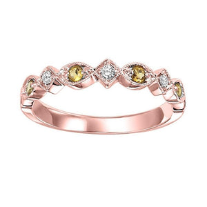 14kr mix prong citrine band 1/20ct, kb10-4wd