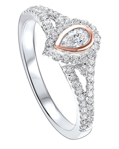 14K Diamond ring 1/2ctw, Fernbaugh's, RG10230-4WPC