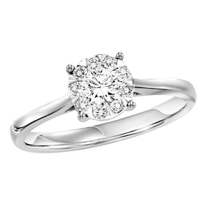14K Diamond Ring 1/2ctw, Fernbaugh's, RG10290-4WB