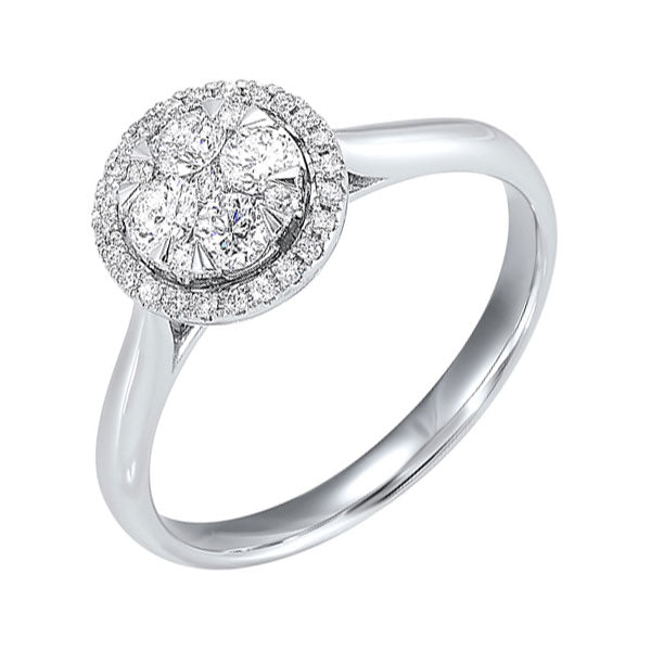 14K Diamond Ring 1/3ctw, Fernbaugh's, RG10557-4WC