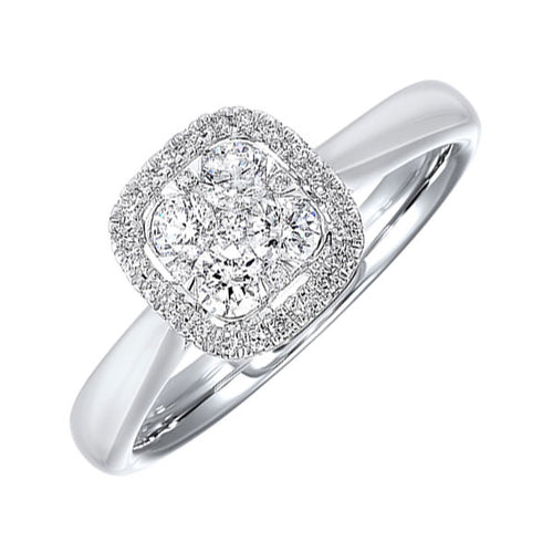14K Diamond Ring 1/3ctw, Fernbaugh's, RG10565-4WC
