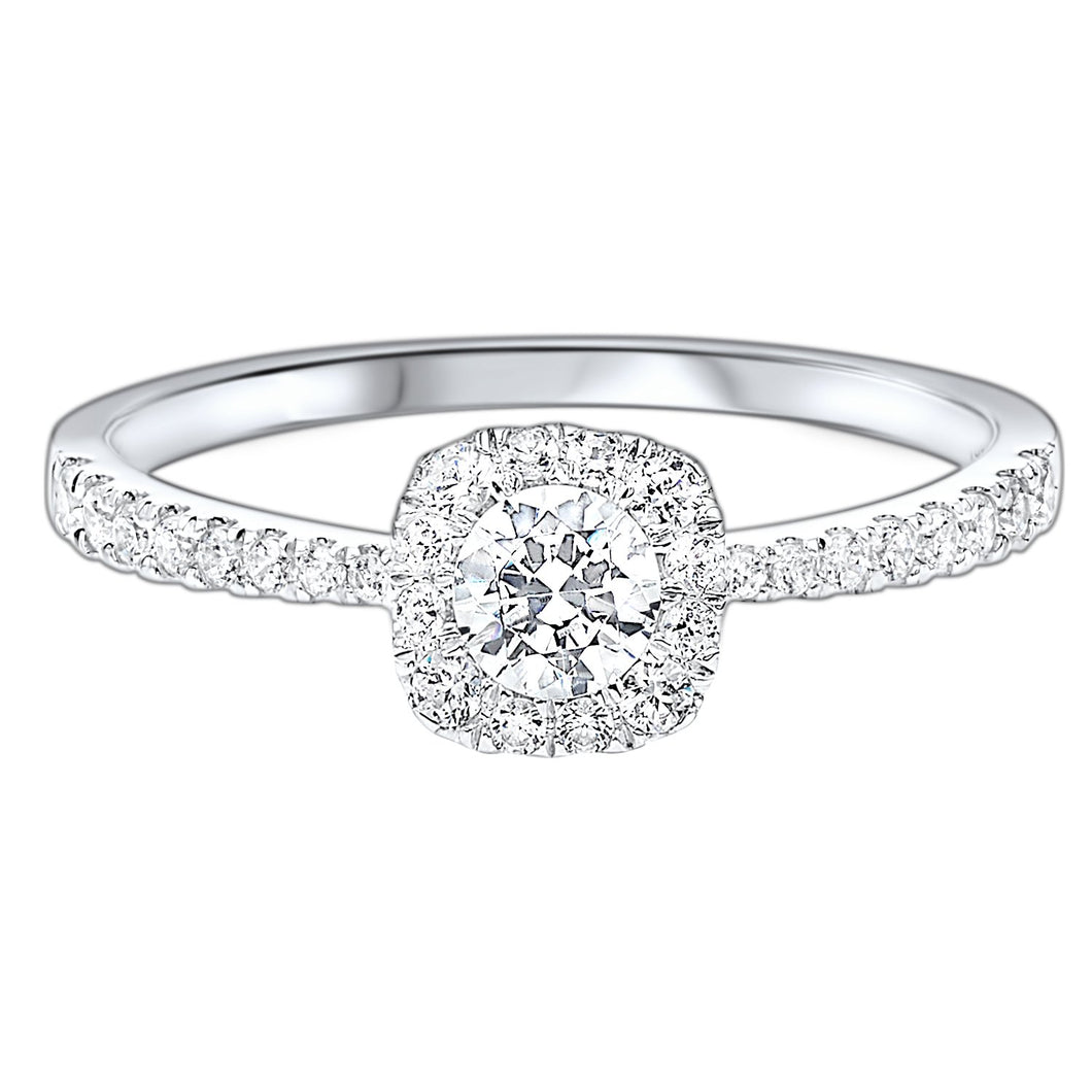 14K Diamond Ring 1/2ctw, Fernbaugh's Jewelers, RG46370-4WC