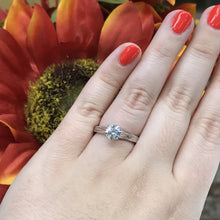 Load image into Gallery viewer, .75 CT Solitaire Engagement Ring