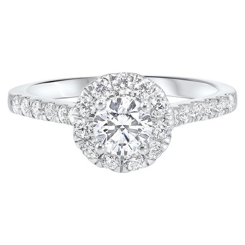 14kw c&c split prong diamond ring 1ct, ejc1001-4wc