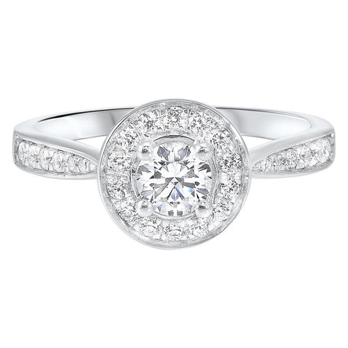 14kw c&c micro prong diamond ring 3/4ct, rg10278-4wd