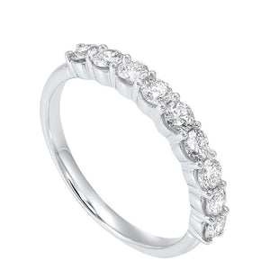 14kw 9 stone shared prong diamond band 3/4ct, hdr1025-4wce