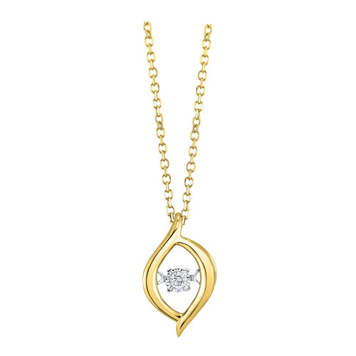 Gold Diamond ROL Pendant, Fernbaugh's, ROL1227-1YC