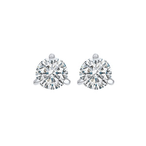 18kw prong diamond studs 3/4ct, fr1314-4wyd
