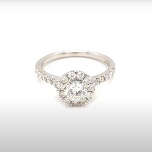 Load image into Gallery viewer, 1CT Diamond Engagement Ring