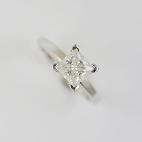 Forever Brilliant Moissanite Engagement Ring