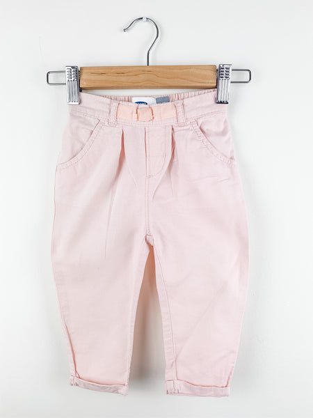 Old Navy Baby Girls Pink Cotton Jogger Pant 12-18mo