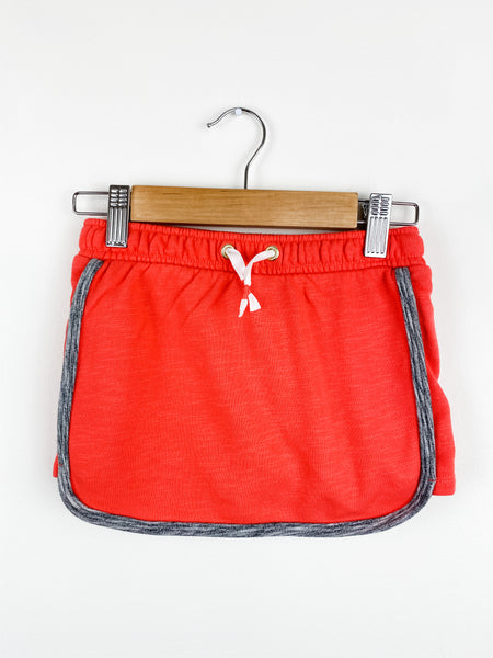 Cat & Jack Girls Red/Gray Skort XS (4/5)