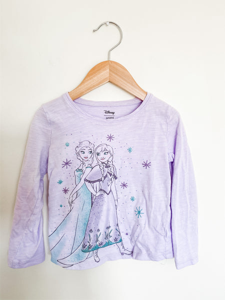 Disney Toddler Girls Frozen LS Graphic Tee 4T