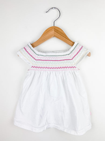 Baby Gap Toddler Girl Smocked Babydoll Top 4T