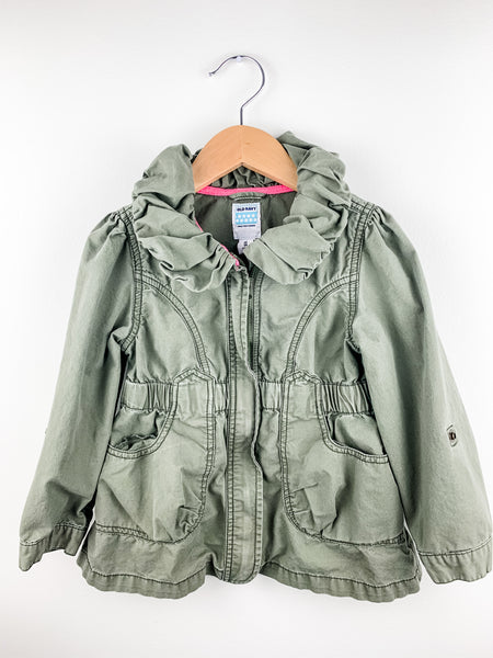 Old Navy Toddler Girls Scout Jacket 5T