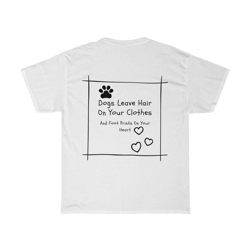 Footprints on my Heart Unisex Heavy Cotton T Shirt