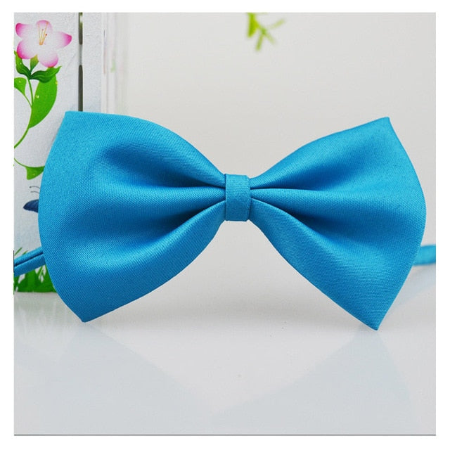 Dog Adjustable Strap Bow Tie