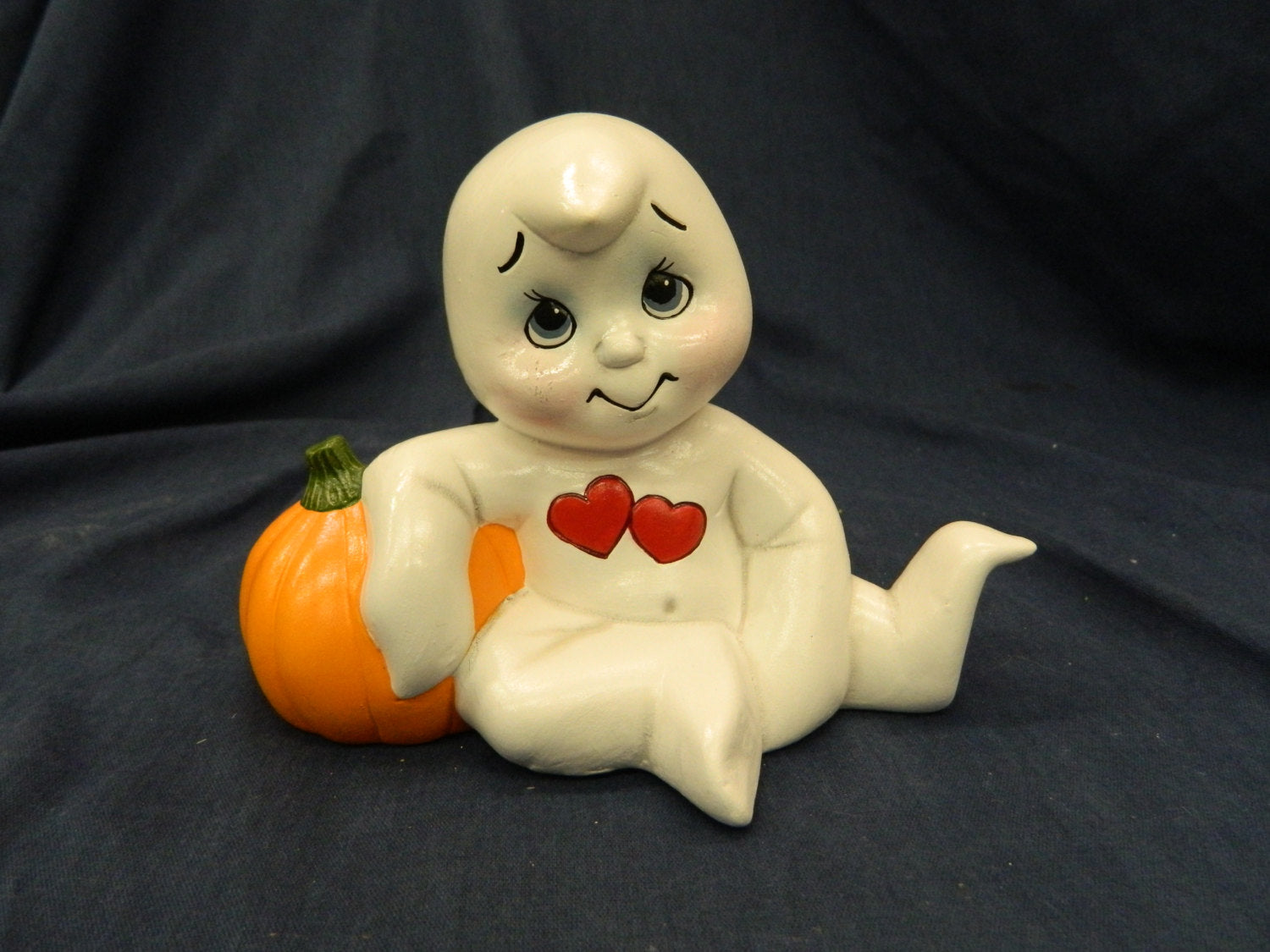 Boo Baby With Pumpkin- Read To Paint