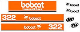 Bobcat 322 Decal Set