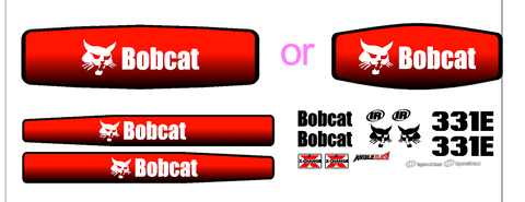 Bobcat 331E Decal Set