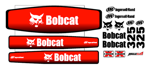 Bobcat 325D Decal Set