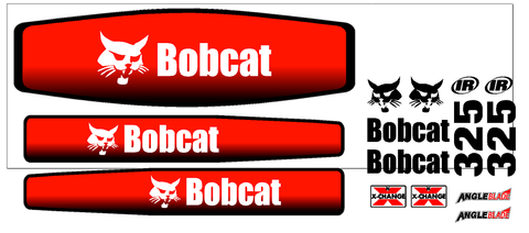 Bobcat 325G Decal Set