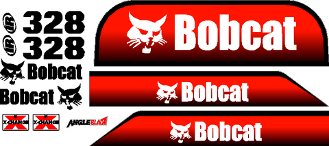 Bobcat 328D Decal Set