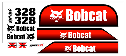 Bobcat 328 Decal Set