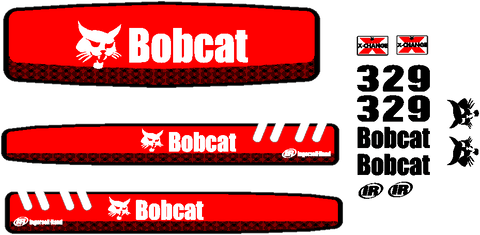 Bobcat 329G Decal Set
