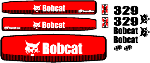 Bobcat 329 Decal Set