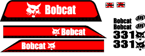 Bobcat 331D Decal Set