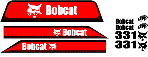 Bobcat 331 Decal Set