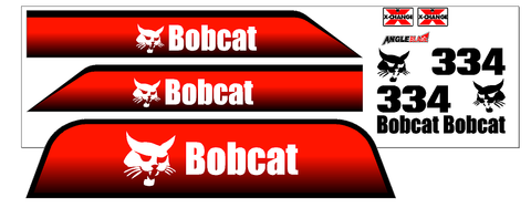 Bobcat 334G Decal Set