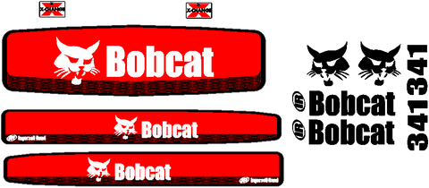Bobcat 341 Decal Set