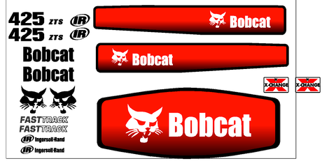 Bobcat 425 Decal Set