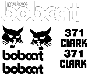 Bobcat M371 Decal Set