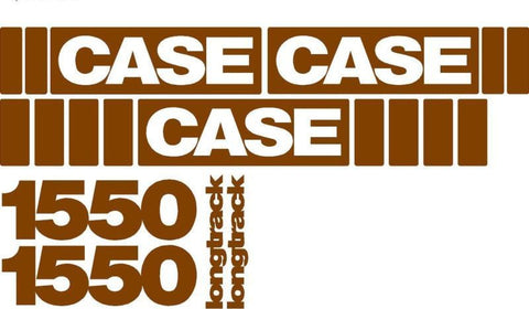 Case 1550 Decal Set