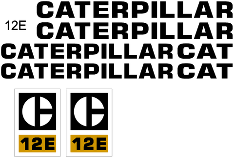 Caterpillar Decals – All Things Equipment