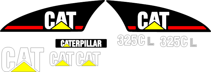 Caterpillar 325CL Decal Set