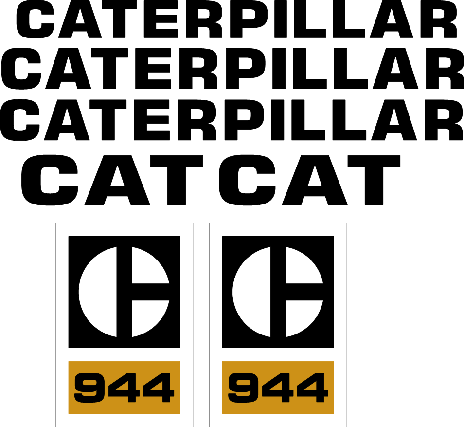 Caterpillar 944 Decal Set